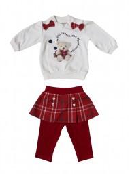Комплект для девочек (кофта, брюки)