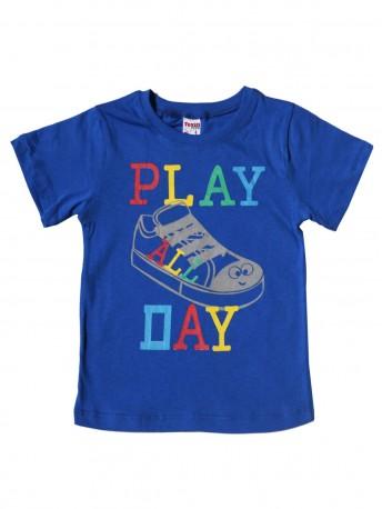 Футболка для мальчиков с надписью PLAY PAY