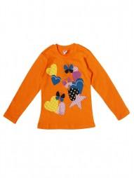 Джемпер для девочек оранжевый1