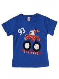 Футболка для мальчиков с надписью 93