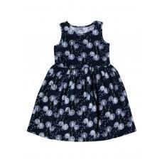 Платье детское c рисунком цветы