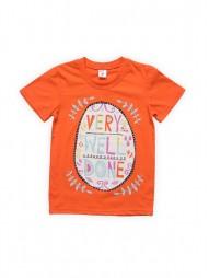 Футболка для девочек Оранжевая