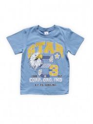 Футболка для мальчиков Голубая Star