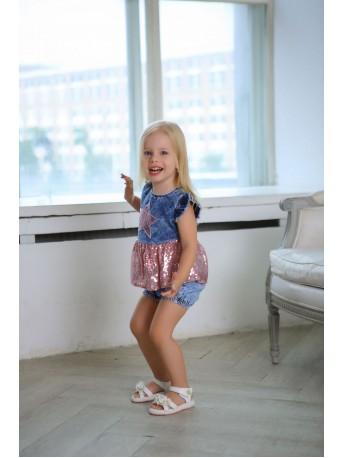 Текстильный Комплект для девочек