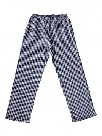 Женские брюки для дома надп.клетка