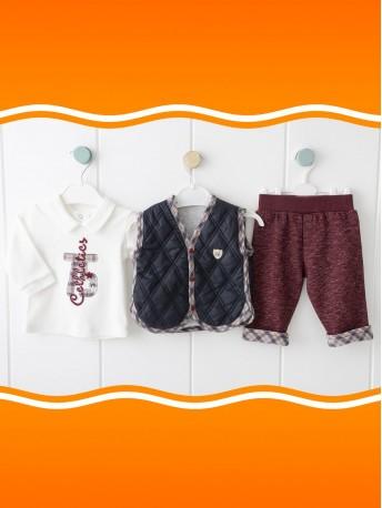 *Под заказ* Комплект (брюки+кофта+жилет)