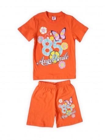 Комплект для девочек Оранжевый
