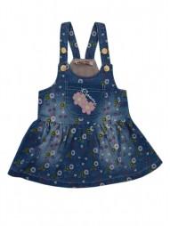 Джинсовое платье для девочек