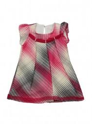 Летнее текстильное платье на подкладке