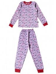 Пижама детская с рис. кот