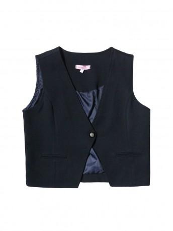 Жилет текстильный для девочек