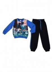 Спортивный утепленный комплект для мальчиков (футер с начесом)