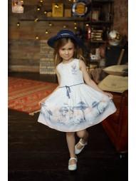 Платье с шляпой