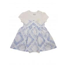 Боди-платье для девочек с нарядной текстильной юбкой