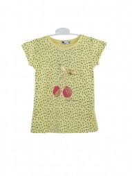 Джемпер для девочек с короткими рукавами