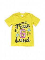 Футболка для девочек Желтая