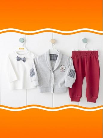 *Под заказ* Комплект(кардиган+кофта+брюки)