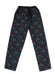Укороченные женские брюки с рис.звездочки