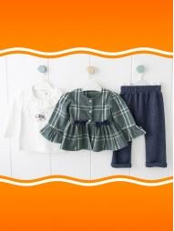 *Под заказ* Комплект(Туника+кофта+брюки)