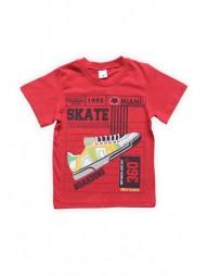 Футболка для мальчиков Красная Skate