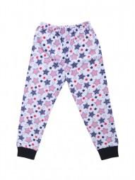 Домашние брюки для мальчиков (трикотажные) с рис.звезды
