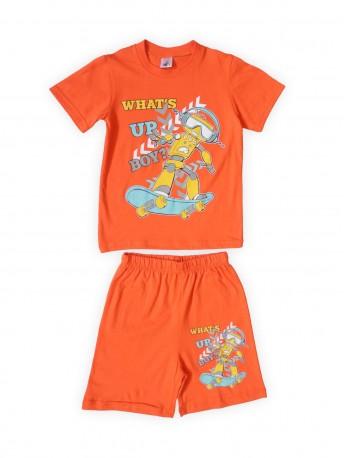 Комплект для мальчиков Оранжевый
