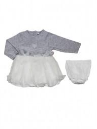 Комплект для девочек, платье+трусики