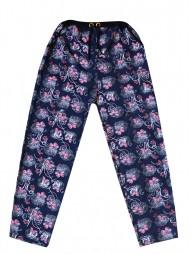 Укороченные женские брюки с рис.бабочки