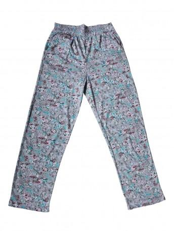 Женские брюки для дома надп.цветы