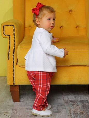 Комплект для девочек (джемпер, брюки)