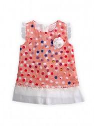 Платье текстильное на подкладке