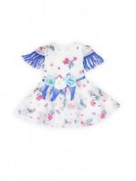 Текстильное платье из органзы