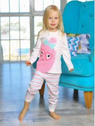 Комплект домашний для девочек (джемпер, брюки)
