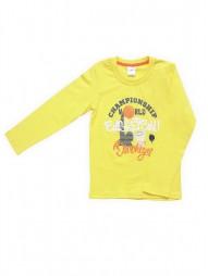Джемпер для мальчиков желтый2