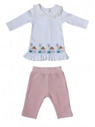Комплект для девочек (туника, брюки)