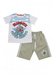 Комплект для мальчиков (шорты Текстильные)